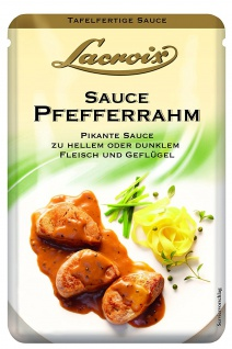 Lacroix Pfefferrahm Fertigsauce fein und Pikante 150ml 5er Pack
