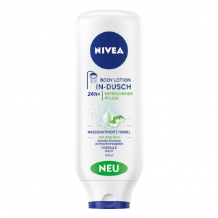 Nivea In-Dusch Bodylotion für normal Haut mit Meeresmineralien 400ml