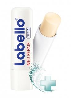 Labello Med Repair Lippenpflegestift für die tägliche Anwendung 4, 8g 3er Pack