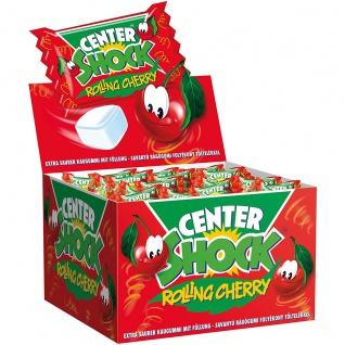 Center Shock Rolling Cherry saures Kaugummi mit Kirschgeschmack 400g