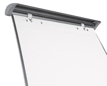 Flipchart-Papier blanko 5 Blöcke mit je 20 blanko Blättern für Präsentationen