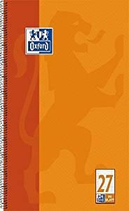 Oxford Collegeblock Größe DIN A4+ liniert 80 Blatt