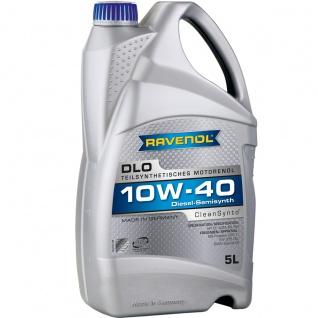 Ravenol DLO SAE 10W 40 Leichtlauf Motorenöl für Diesel Motoren 5L