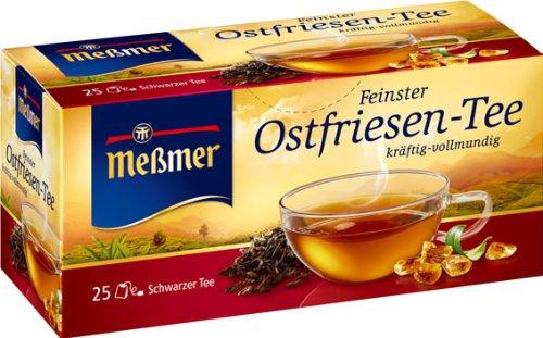 Meßmer Feinster Ostfriesen Tee kräftig und vollmundig 6er Pack
