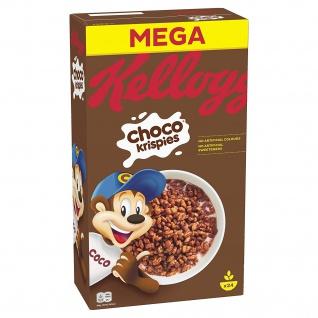 Kelloggs Choco Krispies knusprige schokoladige Cerealien 720g