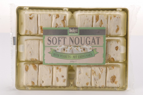Soft Nougat With Peanuts 200g