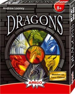 Amigo Dragons spannendes Kartenspiel für Kinder und Erwachsene