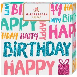 Niederegger Selection Happy Birthday Marzipan Nougat Nuss 100g