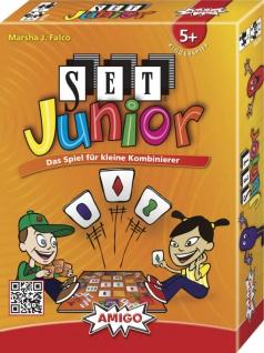 Amigo SET Junior Ein spannendes Spiel für Kinder ab 5 Jahren