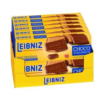 Bahlsen Choco Butterkeks mit knackiger Schokolade 125g 12er Pack