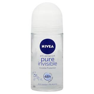 Nivea Pure Invisible Antiperspirant Deodorant Roll-On 50 ml (3 Pack) by Nivea - Vorschau