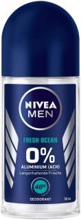 Nivea Roll on for Men Fresh Ocean 48h Deo Schutz 50ml 6er Pack