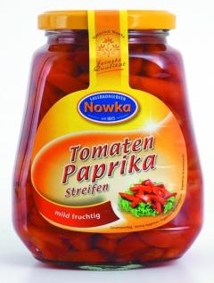 Paulsen Nowka Tomatenpaprika geschnitten mild fruchtig menüfertig 580g - Vorschau