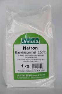 Natron Haushalts und Küchen Helfer Backtriebmittel backen 1000g