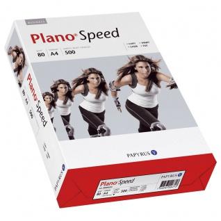 Papyrus Plano Speed Kopierpapier weiß DIN A4 500 Blatt 20er Pack