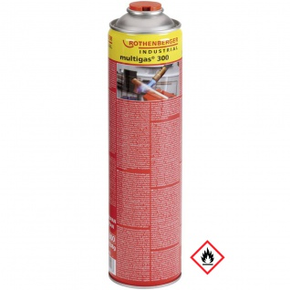 Rothenberger Industrial Multigas 300 Nachfüllkartusche 600ml