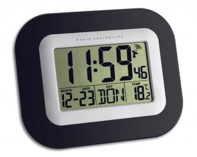 Funkuhr mit Thermometer