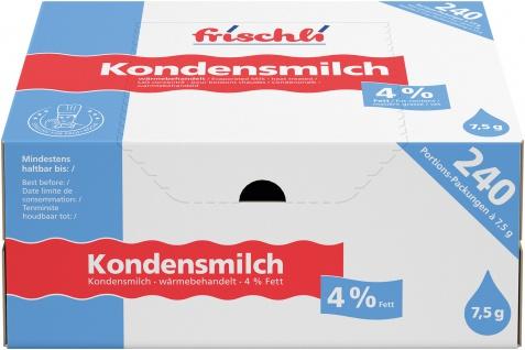 Frischli Kondensmilch 4% feiner Geschmack und hohe Weißkraft 1800g