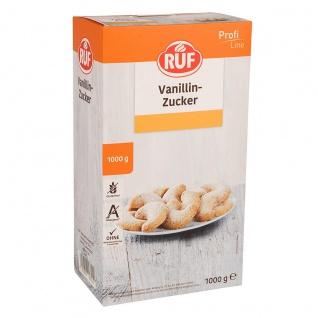 RUF Vanillin Zucker Profi Line mit dem besonderen Vanille Aroma 1000g