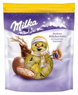 Milka Bonbons Alpenmilchschokolade mit Milchcreme Füllung 86g
