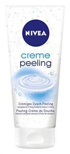 Nivea Creme Peeling, Dusch-Peeling 2er Pack (2 x 200 ml)