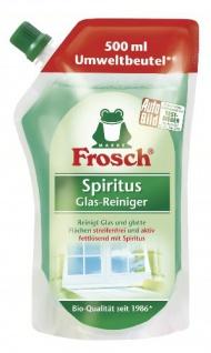 Frosch Spiritus Glas-Reiniger 500ml Umweltbeutel / Nachfüllbeutel