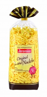 Jeremias Spätzle geschabt, Gourmet Frischei-Landnudeln, 2er Pack (2 x 500 g Beutel)