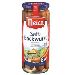 Meica Saft-Bockwurst 8ST extra zart 540g