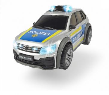 Dickie Toys 203714013 VW Tiguan Police für Kinder ab 3 Jahren