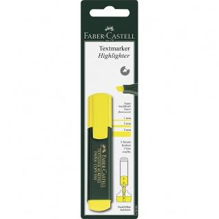 Faber Castell Highlighter Marker Textmarker Textliner 48 Gelb