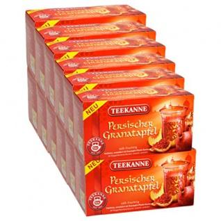 Teekanne Persischer Granatapfel süss fruchtig Früchtetee 12er Pack