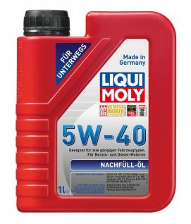 Liqui Moly 1305 Nachfüll-Öl für Benzin- und Dieselmotoren 5W-40 - 1000ml