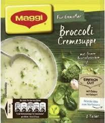 Maggi Für Genießer Broccoli Cremesuppe mit Kreuter Beutel Inhalt 44g
