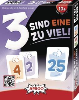 Amigo 3 sind eine zu viel tolles Kartenspiel für die ganze Familie