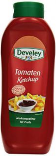 DEVELEY Tomaten Ketchup, 4er Pack (4 x 875 ml)