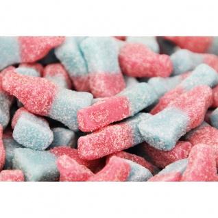 Fruchtgummi Bubblegum Bottles sauer ohne Gelatine Laktosefrei 2500g