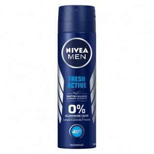 Nivea Men Deo Fresh Active Spray ohne Aluminium150ml 6er Pack