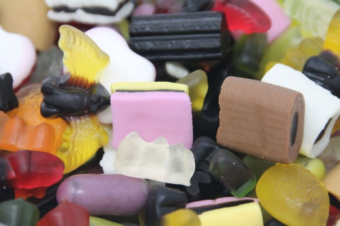 Fruchtgummi Lakritz Mix Mischung aus Lakritz und Fruchtgummi 300g