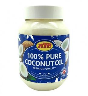 Kokosöl 100% Pur Kokosöl zum Braten KTC Pure Coconut Oil 500ml