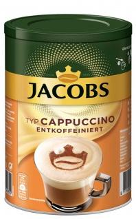 Jacobs Cappuccino Kaffee fein cremig entkoffeiniert Inhalt 220g