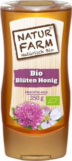 NATURFARM BIO Blüten Honig in der Tube mit blumigem Geschmack 350g