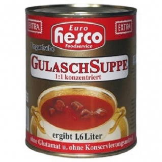 Hesco ung.Gulaschsuppe extra konz.