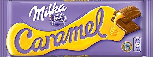 Mondelez Milka Caramel, 1er Pack (1 x 100 g)