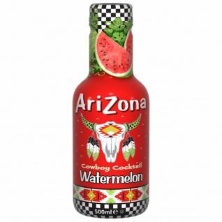 Arizona Eistee Wassermelone Erfrischungsgetränk Einwegflasche 500ml