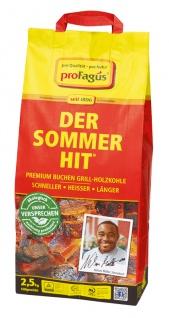 proFagus Der Sommer Hit Buchen Grillholzkohle zum grillen 2, 5kg