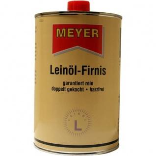 Meyer Leinoel Firnis Versiegeln von Holz Möbel Balken 1000ml