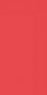 Duni Servietten rot 33 x 33cm 3lagig 1/8 Falz 250 Stück in einer Packung