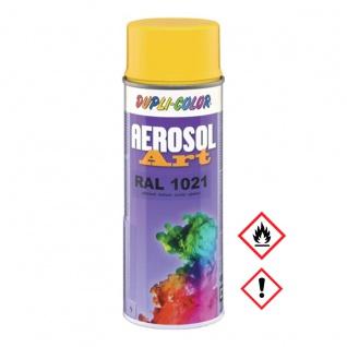 Motip Dupli Color Aerosol Art RAL 1021 Buntlack rapsgelb 400ml