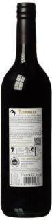 Turmfalke Dornfelder Rotwein Lieblich Qualitätswein aus Hessen 750ml 6er Pack