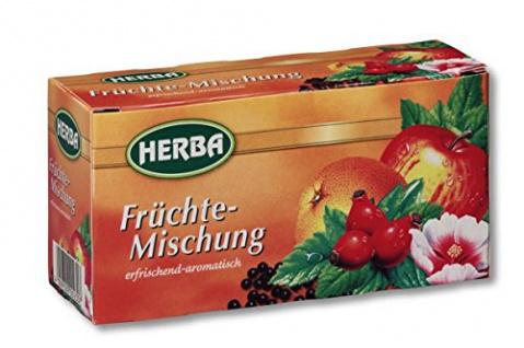 Herba Früchtemischung erfrischend und aromatisch im 20er Pack